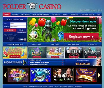 Polder Casino screenshot